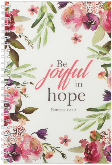 Be Joyful in Hope Notebook