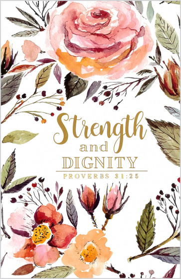 Strength and Dignity Notebook