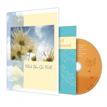 While You Get Well  Greeting Card with Music CD