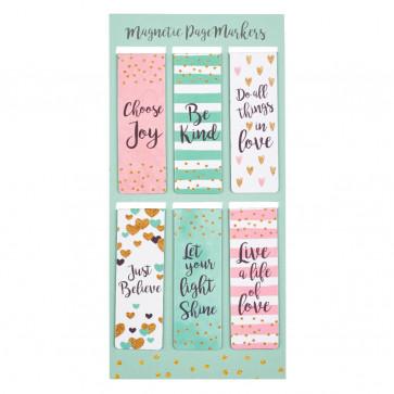 Choose Joy Magnetic Bookmarks