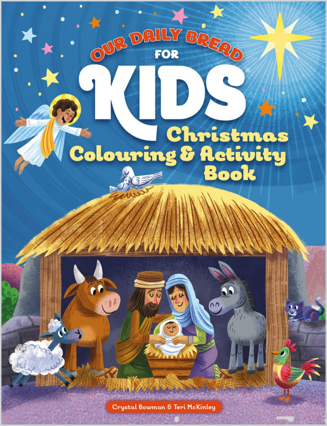 Our Daily Bread For Kids Christmas Colouring Activity Book