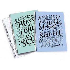 A5 Bible Verse Notebooks