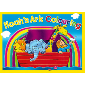 Noah's Ark Colouring