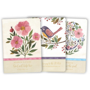 A5 Floral Softcover Notebooks