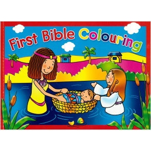 First Bible Colouring Book