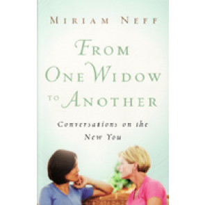From One Widow to Another