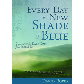 Every Day is a New Shade of Blue Psalm 23 ISBN 978-1-57293-572-3