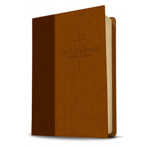 Our Daily Bread Devotional Bible NLT - Brown ISBN 978-1-4143-6197-0