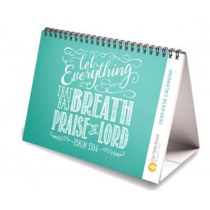 Let Everything That Has Breath A6 Desk Calendar