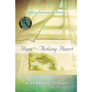 Large Print: Hope for an Aching Heart ISBN 978-1-57293-820-5