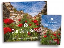 2022 Our Daily Bread Inspirational Calendar & Daily Planner Set