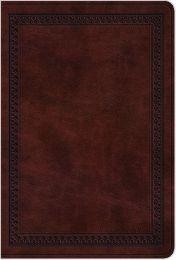 ESV Compact Bible, Mahogany