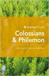 Journey Through Colossians & Philemon