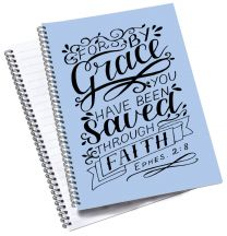 For by Grace A5 Notebook