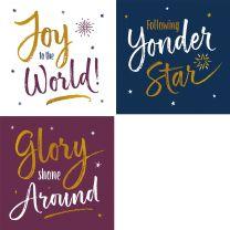 Carol Script Set (Christmas Cards)