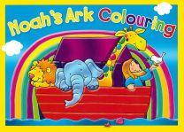 Noah's Ark Colouring