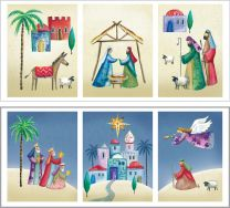 Nativity Panels Set