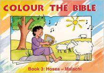 Colour the Bible Book 3: Hosea - Malachi
