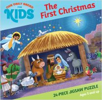 Our Daily Bread for Kids: The First Christmas 24-piece Jigsaw Puzzle