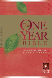 The One Year Bible NLT Slimline Large Print