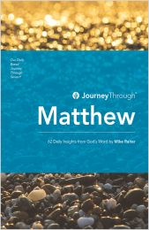 Journey Through Matthew