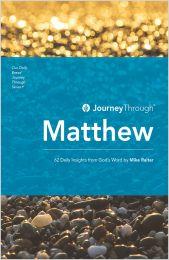 Journey Through Matthew