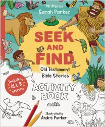 Seek and Find: Old Testament Bible Stories Activity Book