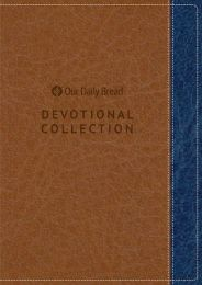 Our Daily Bread Devotional Collection 2019 (Navy and Walnut)