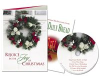 Rejoice in the Joy Christmas Card and Music CD